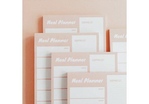 Noteblock Mealplanner Blush
