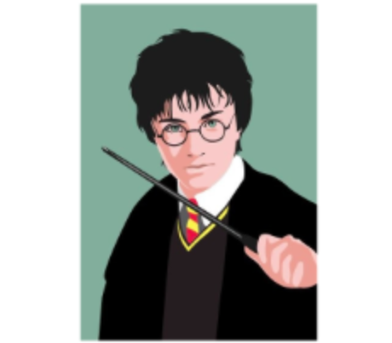 Ansichtkaart Harry Potter