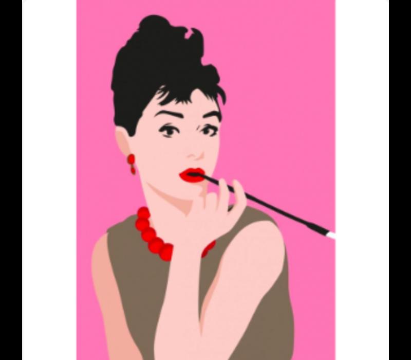 Ansichtkaart Audrey Hepburn
