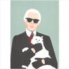Decadence Ansichtkaart Karl Lagerfeld