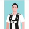 Decadence Ansichtkaart Christiano Ronaldo