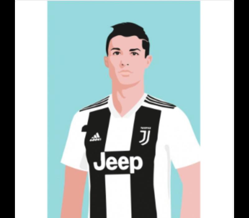 Ansichtkaart Christiano Ronaldo