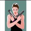 Decadence Ansichtkaart Lara Croft