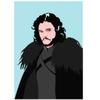 Decadence Ansichtkaart Jon Snow