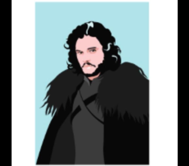 Ansichtkaart Jon Snow