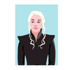 Decadence Ansichtkaart Daenerys Targaryen