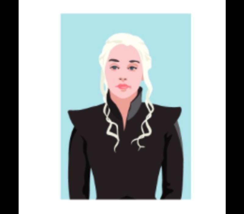 Ansichtkaart Daenerys Targaryen