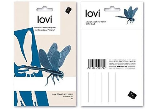 Lovi Dragonfly 10cm light blue