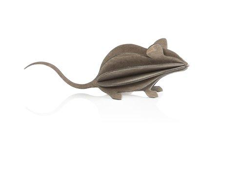 Lovi Mouse 15cm grey