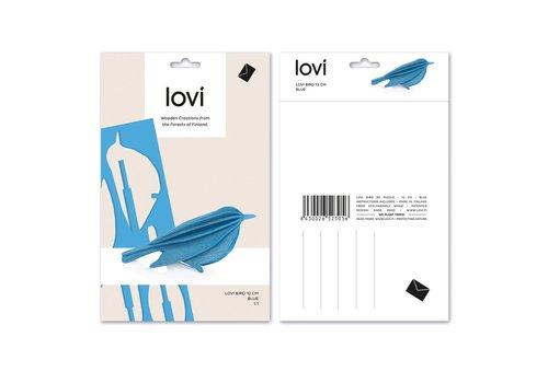 Lovi Bird 12cm blue