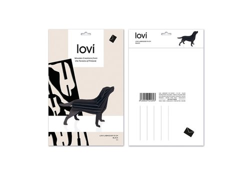 Lovi Labrador 15cm black