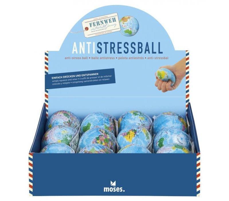 Anti stressbal wereldbol