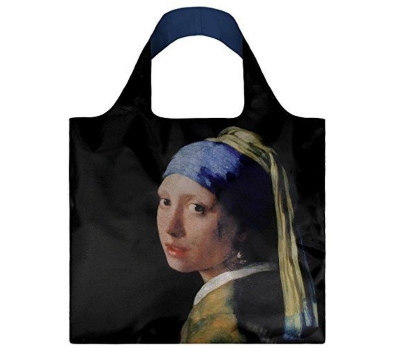 Opvouwbare tas met Meisje met de parel