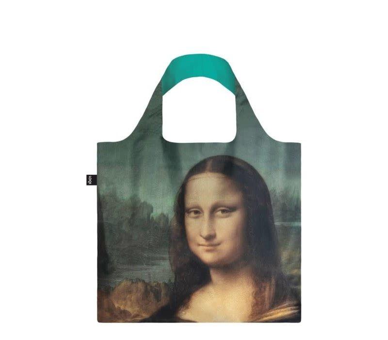Opvouwbare tas met de Mona Lisa van Da Vinci Mona Lisa