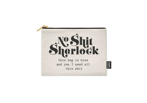 Studio Inktvis Canvas etui Sherlock