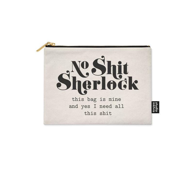 Canvas etui Sherlock