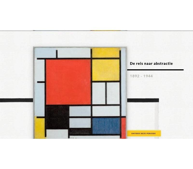 LOQI tas uit de museum collectie Mondriaan
