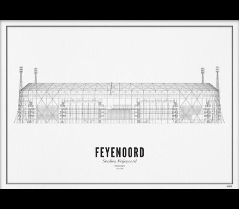 A4 Poster Stadion Feyenoord