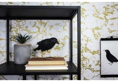Housevitamin Statue Crow