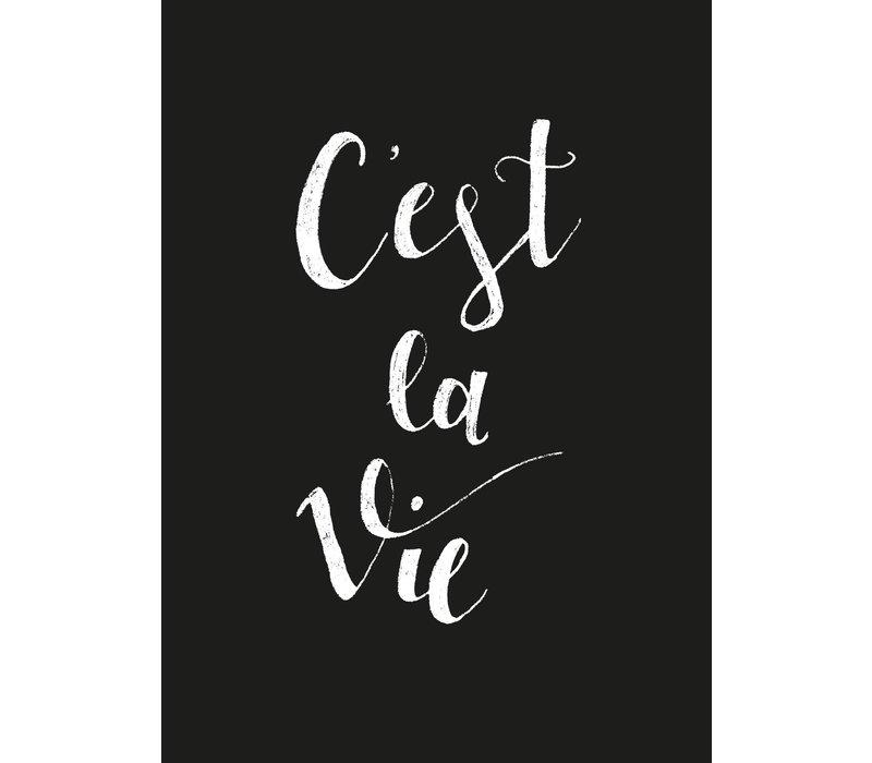 Ansichtkaart C'est la Vie