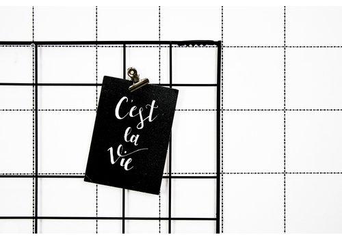 Housevitamin Postcard: C'est la Vie
