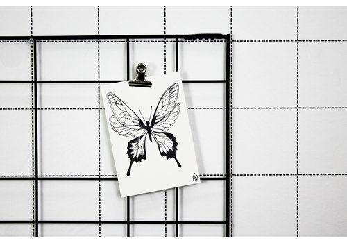 Housevitamin Postcard: Butterfly