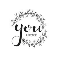 Ansichtkaart  You matter