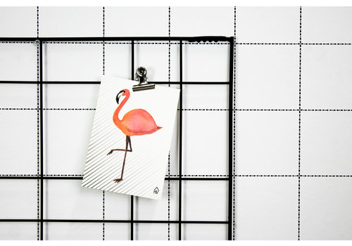 Housevitamin Postcard: Flamingo
