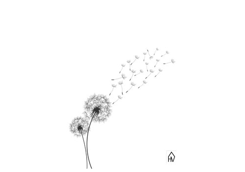 Housevitamin Flower dandelion