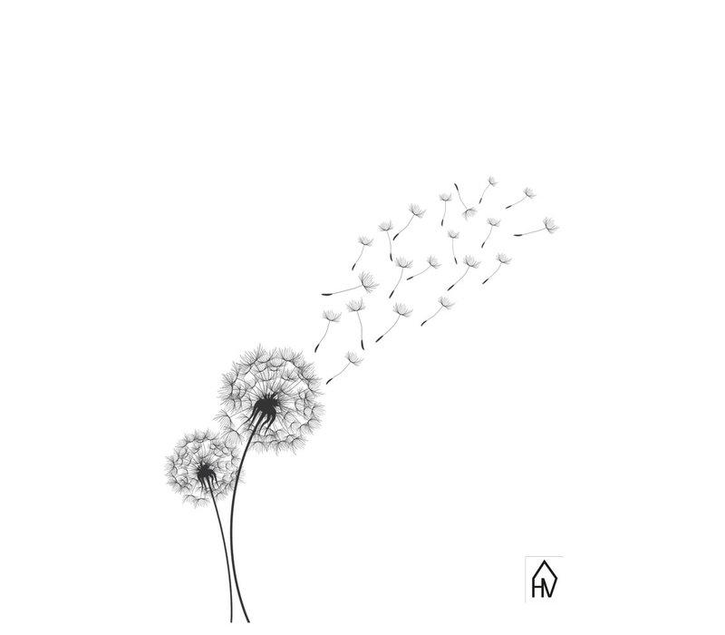 Ansichtkaart  Flower dandelion