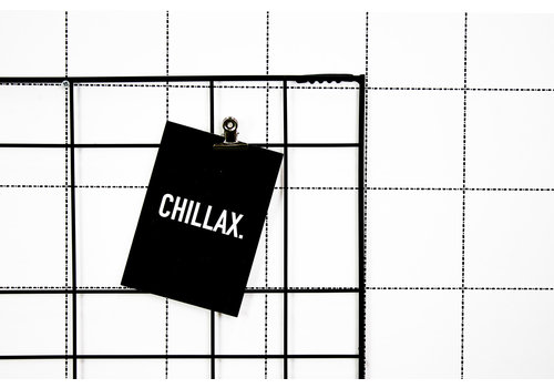 Housevitamin Postcard: Chillax