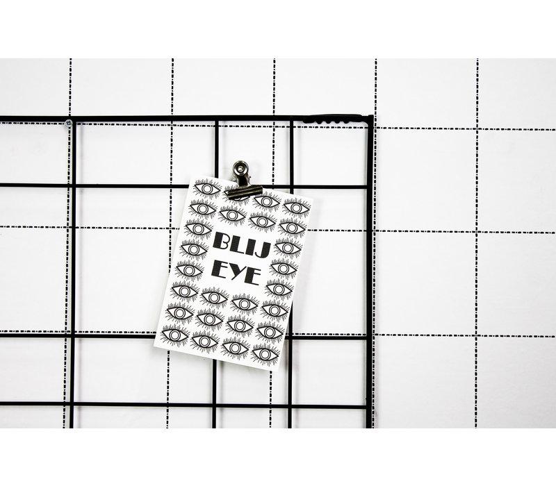 Ansichtkaart  Blij Eye