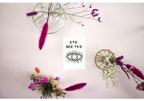 Housevitamin Postcard: Eye See You