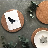 Ansichtkaart  Blackbird