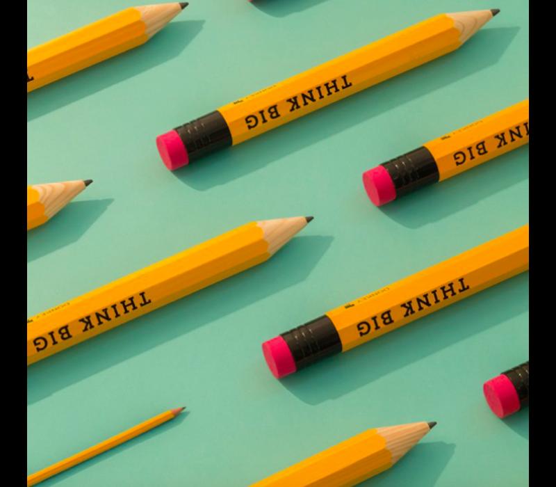 Heel groot potlood Think Big