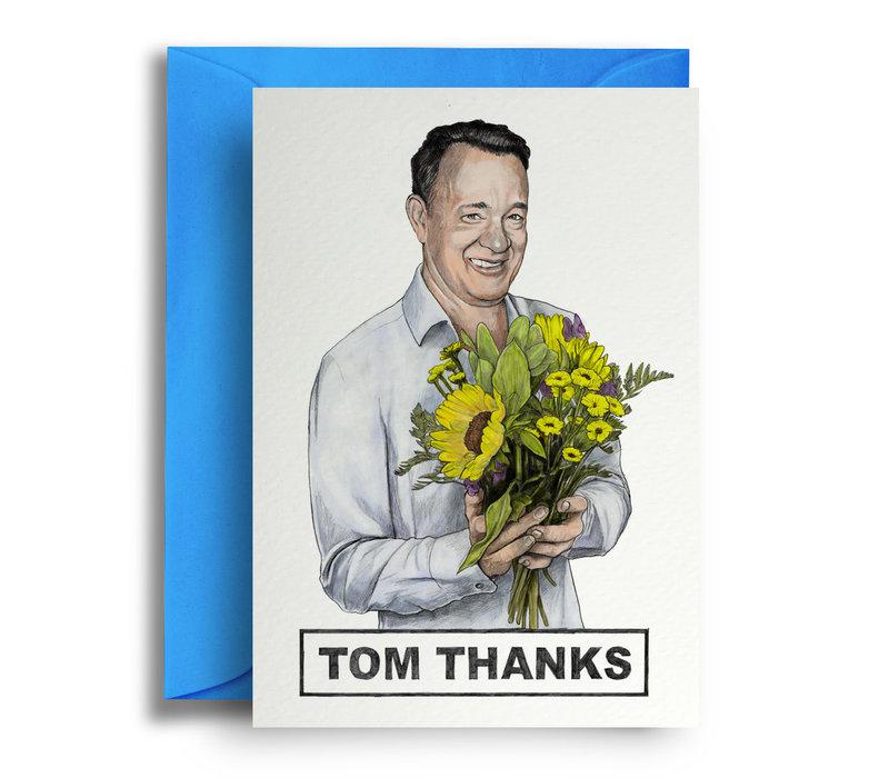 Wenskaart Tom Thanks