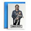 Quite Good Cards Wenskaart Dad Pitt
