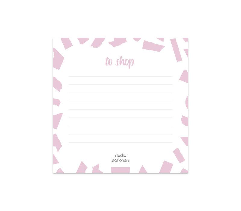 Mini To Shop | Pink Confetti