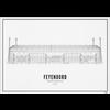 Wijck Poster 50x70 - Stadion Feyenoord