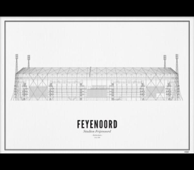Poster 50x70 - Stadion Feyenoord