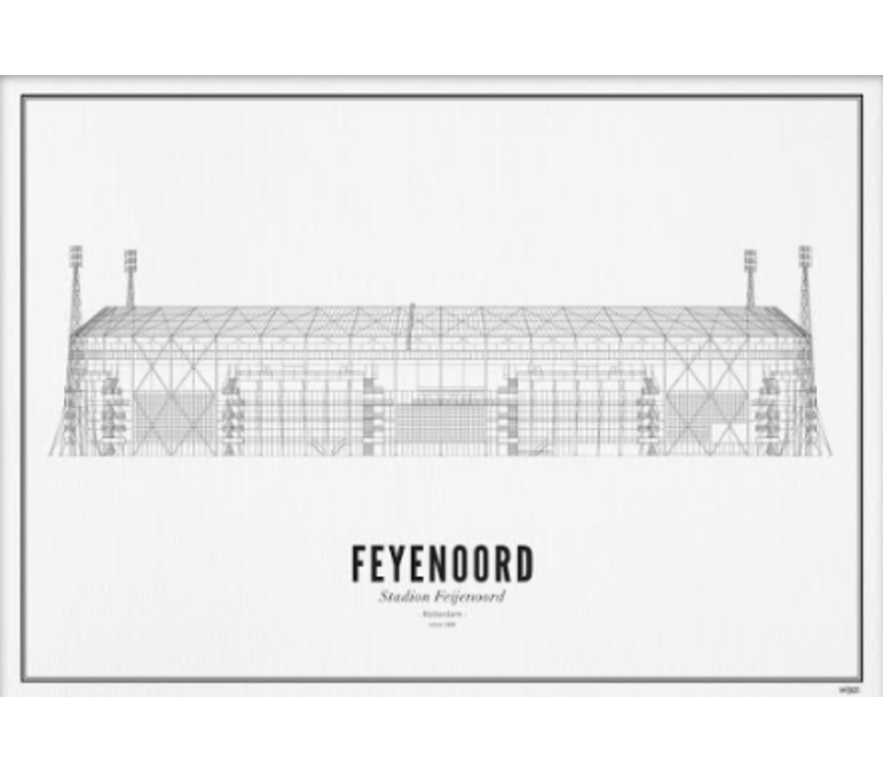 Poster 30x40 - Stadion Feyenoord