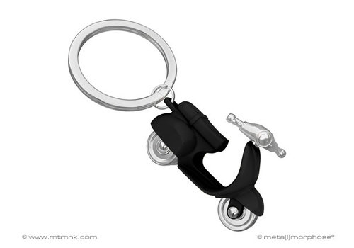 MTM Sleutelhanger scooter zwart
