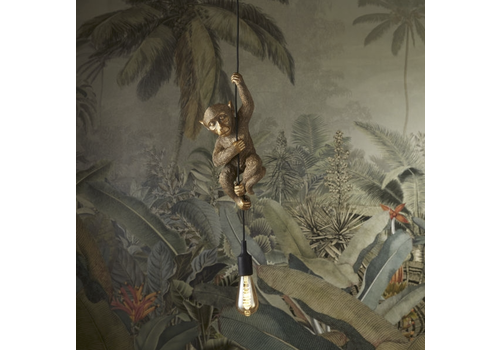 Werner Voss Hanglamp monkey gold