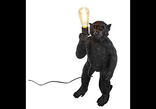 Werner Voss Lamp Standing monkey black