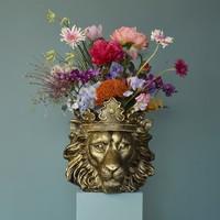 Bloempot- Leeuw Clarence
