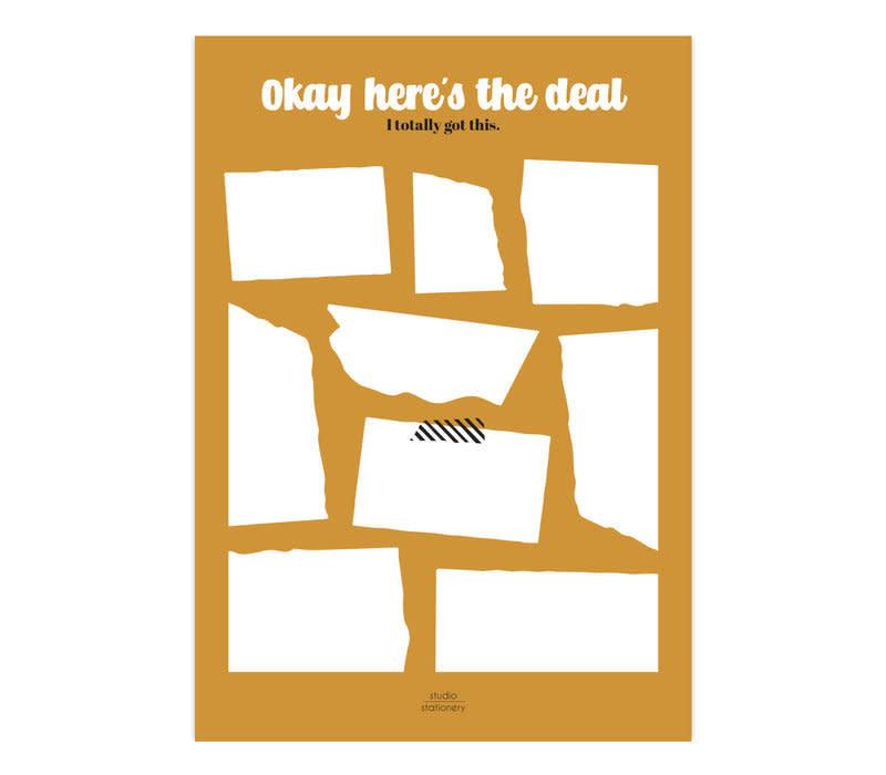 Noteblock | Okay Here's The Deal | Ochre/Oker