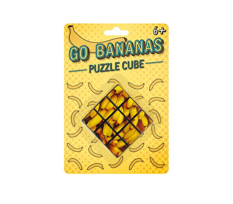 Puzzel Kubus - Bananen