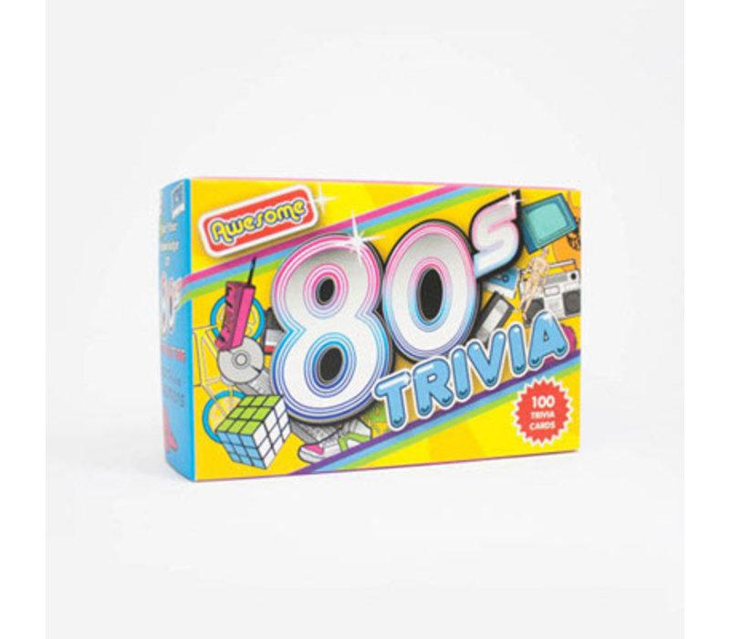 Trivia - Awesome 80s - 80er jaren quiz