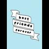 Kaart Blanche Best friends forever