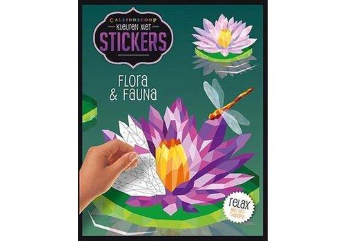 De Lantaarn Kleuren met stickers-flora en fauna